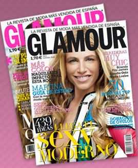 Revista Glamour abril 2008