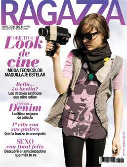 Revista Ragazza abril 2008