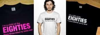 Luce camiseta de la década en la que naciste