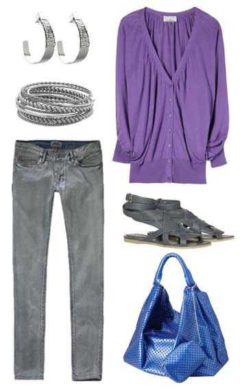 C mo combinar los colores de temporada con estilo web de - Combinar color lila ...