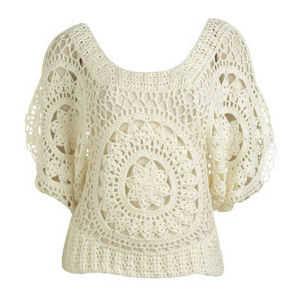 Modelos de suéteres a crochet