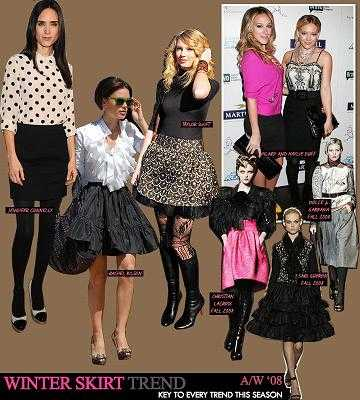 tendencias faldas