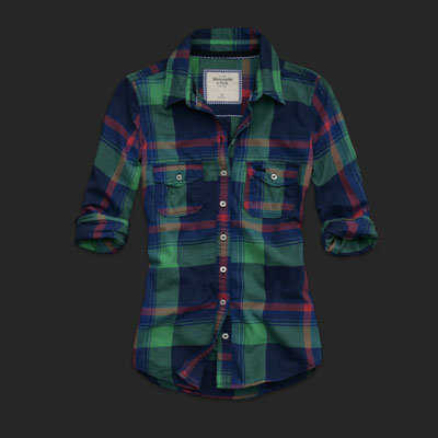 Camisa Abercrombie Cuadros