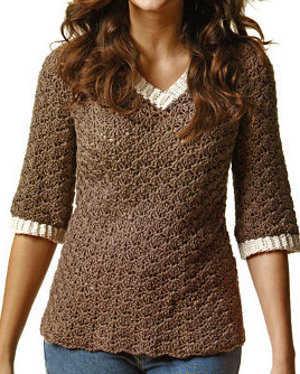 la moda según tu estilo con los suéteres a crochet