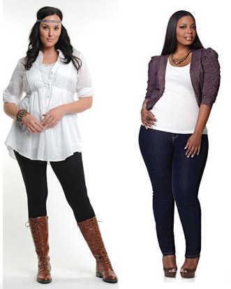 Las gorditas también podemos usar leggings, ¡tips para combinarlas!