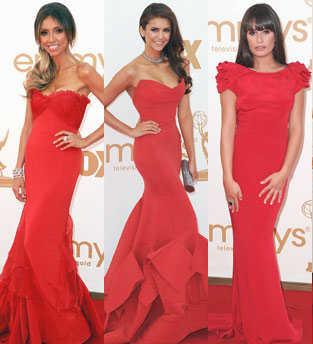 Alfombra roja premios emmy 2011 las celebrities mejores y peores vestidas web de la moda - Las mejores alfombras ...
