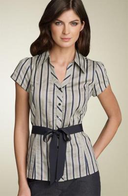 Blusas perfectas y modernas para tus días de oficina