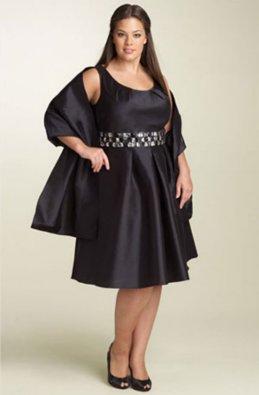 Vestidos de gala para gorditas y bajitas 2013