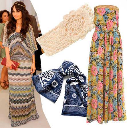 corto nosotros escritura  moda hippie faldas