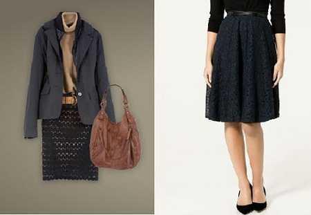 Tres estilos de faldas para ejecutivas! | Web de la Moda