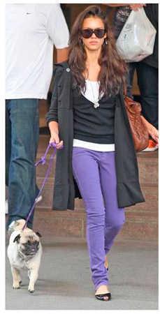 Jeans de colores para mujer moda 2012 u00bfcu00f3mo llevarlos? | Web de la Moda