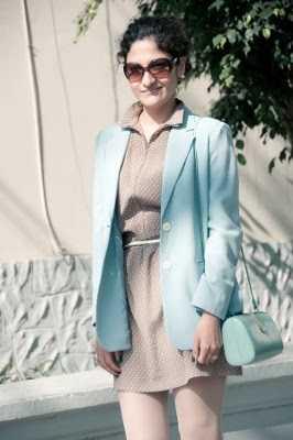 Blazer mujer colores pastel