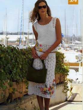 El color blanco en la moda vestidos b sicos y for Conjuntos interiores femeninos