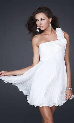 ebb5ff6e9 El color blanco en la moda  ¡vestidos