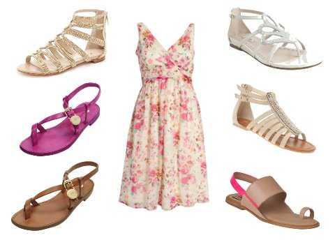 Zapatos para vestidos casuales