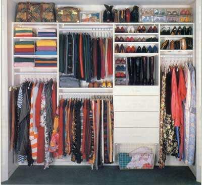 C mo organizar mi armario ideas tiles web de la moda for Organizar armarios empotrados