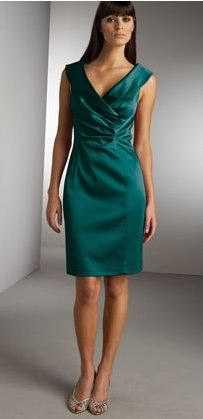 Telas verdes para vestidos