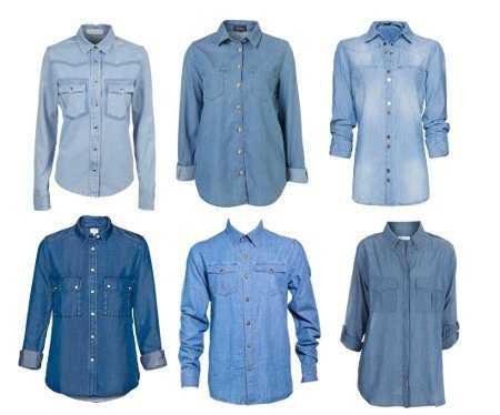 a90628db1a Camisas denim  el básico para crear varios looks