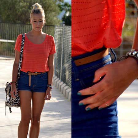 El color naranja con qu combina en la moda web de la - Como se consigue el color naranja ...