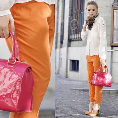El color naranja con qu combina en la moda web de la - Como hacer color naranja ...