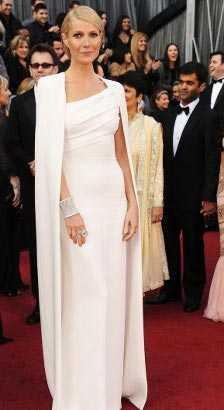 Vestidos blancos pegados largos