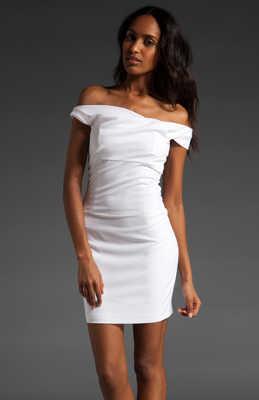 Vestido blanco para fiesta noche
