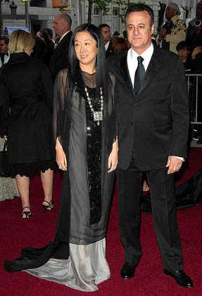 Vera Wang y su esposo, Arthur Becker