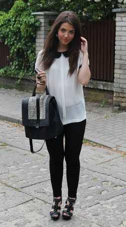 La blusa cuello bebu00e9 u00bfcu00f3mo usarla? | Web de la Moda