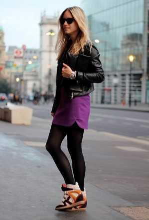 Cu00f3moda y chic Outfits con zapatillas | 4LittleDots