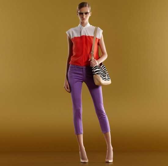C mo combinar un pantal n morado las mejores ideas - Que colores combinan con el lila ...