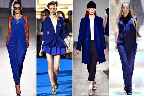 5376905b00b64 Tendencia en colores primavera verano 2013  ¡combina el azul klein ...