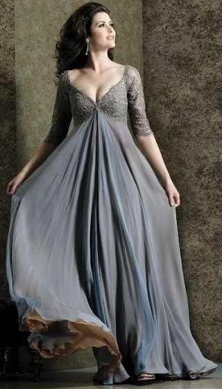 Vestidos para una boda de noche 2012