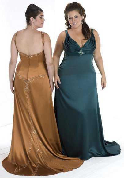 Vestidos para matrimonio de noche para gorditas 2012 | Web de la Moda