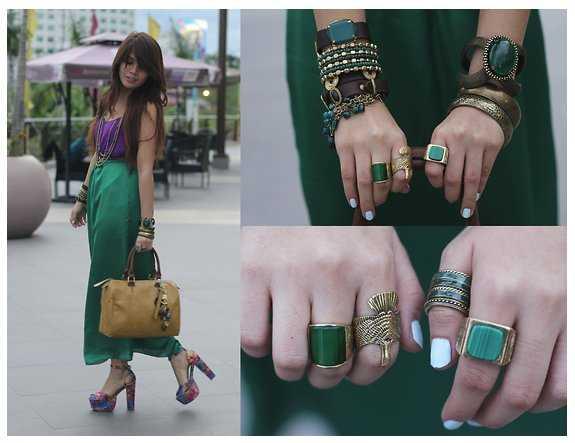 Colores de moda 2013 luce el verde esmeralda este verano - Colores que combinan con el verde botella ...