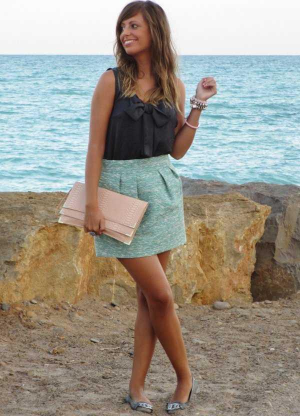 Faldas Cortas U00a1Los Mejores Outfits Para Este 2013! | Web De La Moda