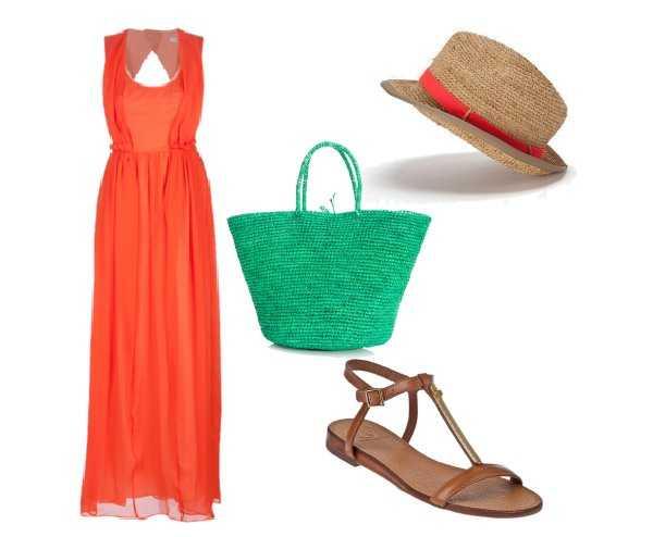 U00bfTienes un vestido color coral? u00a1Te enseu00f1amos a combinarlo! | Web de la Moda