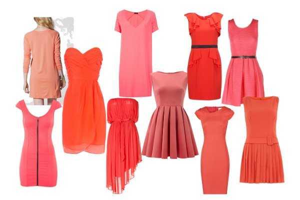 Tienes un vestido color coral? ¡Te enseñamos a combinarlo! | Web ...