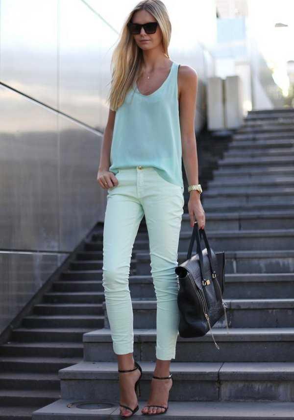 Outfit con juans y tacos ¡Me encanta!