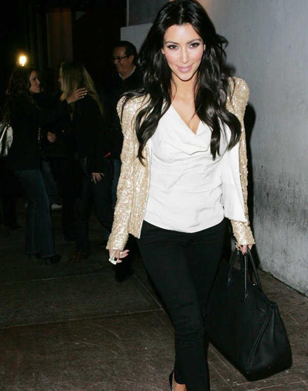 Look sexy de Kim Kardashian ¡Me encanta!