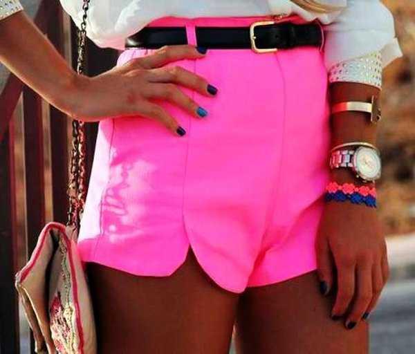 El color neón está de moda