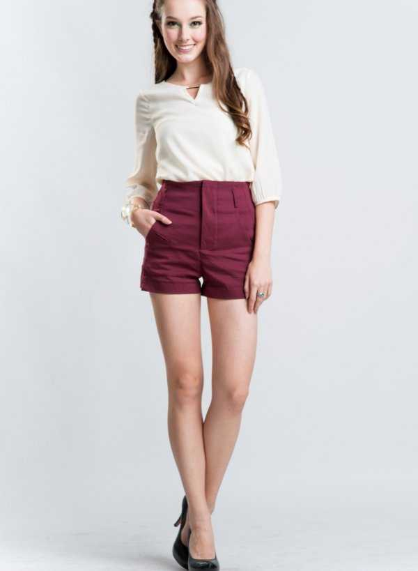 Falda color burgundy ¡Me encanta!