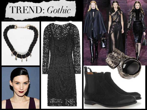Accesorios góticos para complementar tu outfit