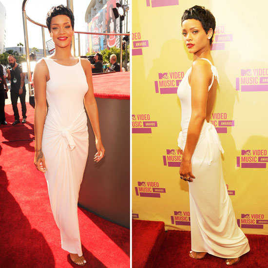 Como lucir un vestido blanco largo