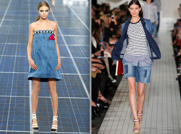 ¡Me encanta la tendencia denim!