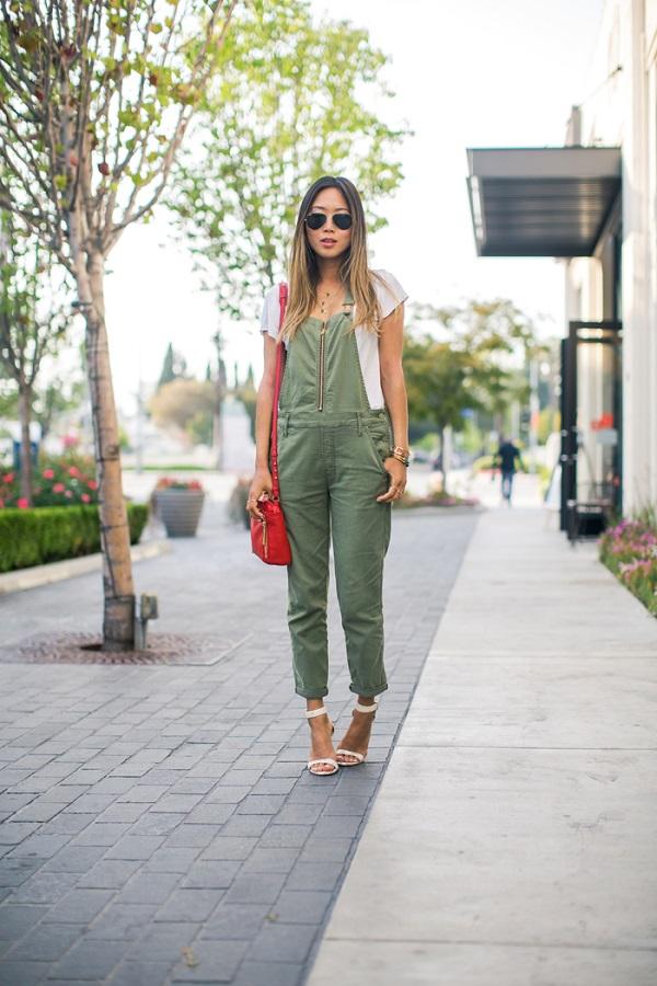 ¿Un overall verde? ¡¿Por qué no?!