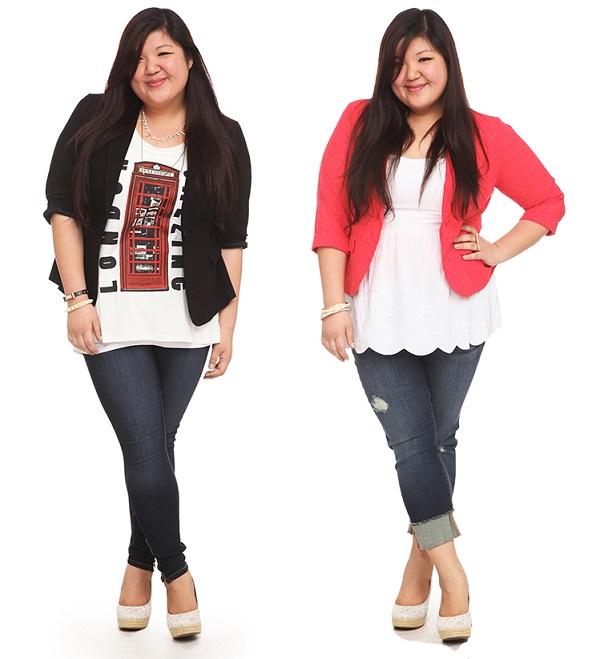 Usa tu par de jeans favoritos con una prenda que marca la diferencia y hace maravillas por tu silueta: ¡El blazer!
